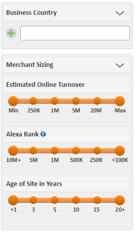 SalesOptimize_Merchant Sizing Filter