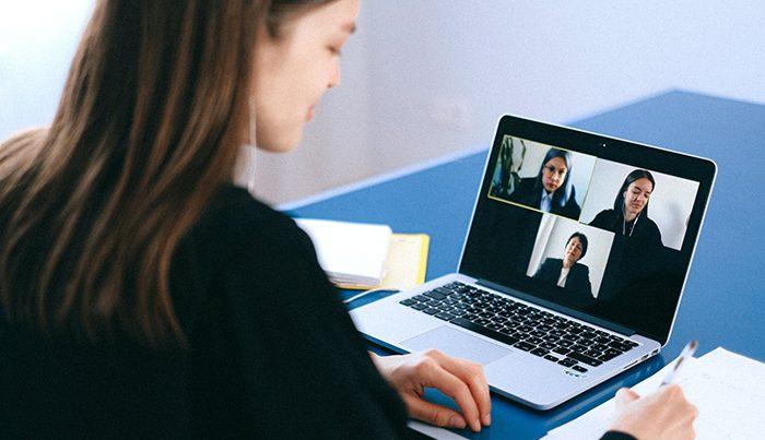 online brainstorming session